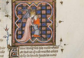 Roseroman, middelalder, frekk