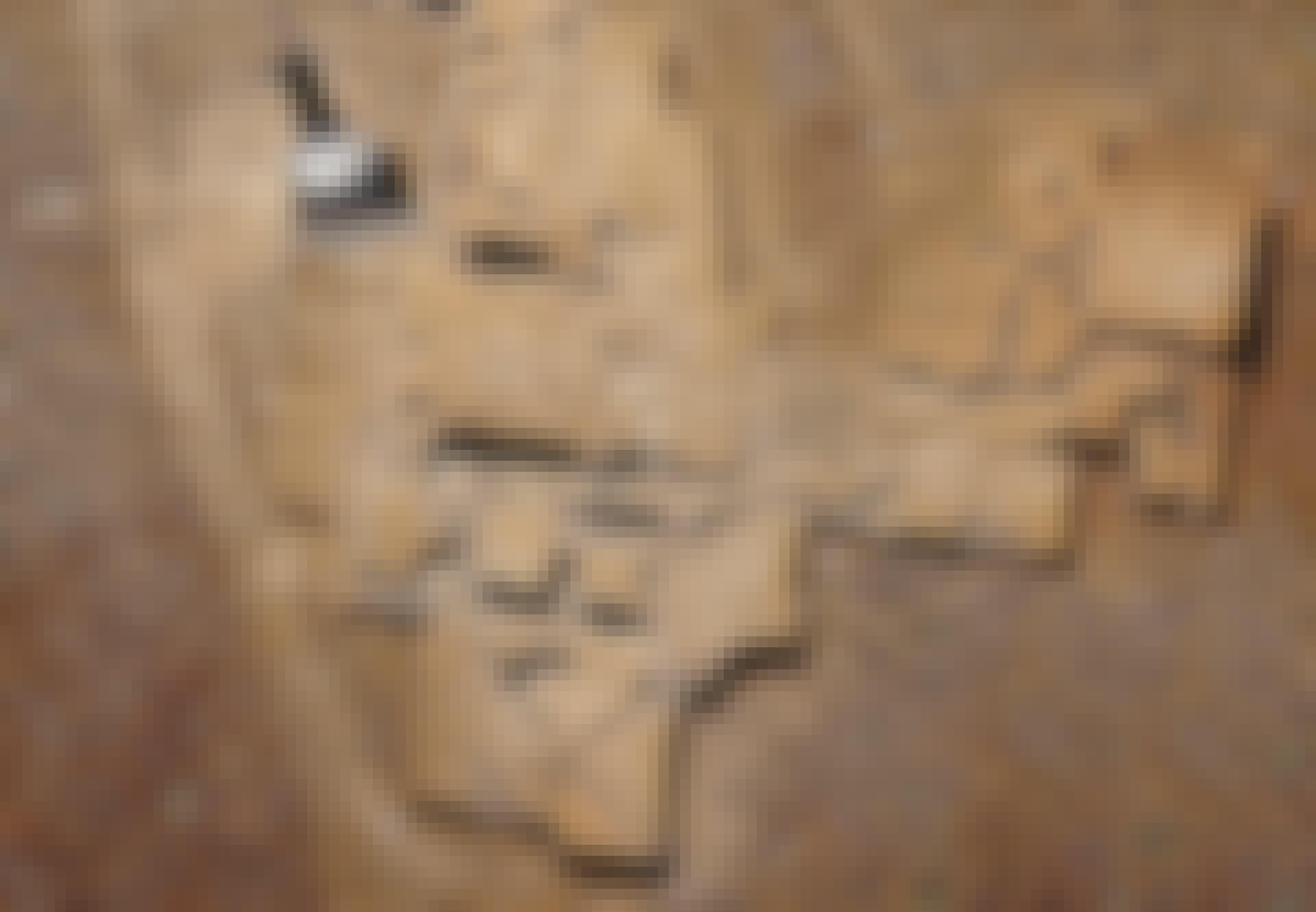 Chrysín kaivaukset