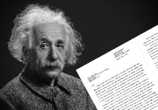 Einstein brev Roosevelt
