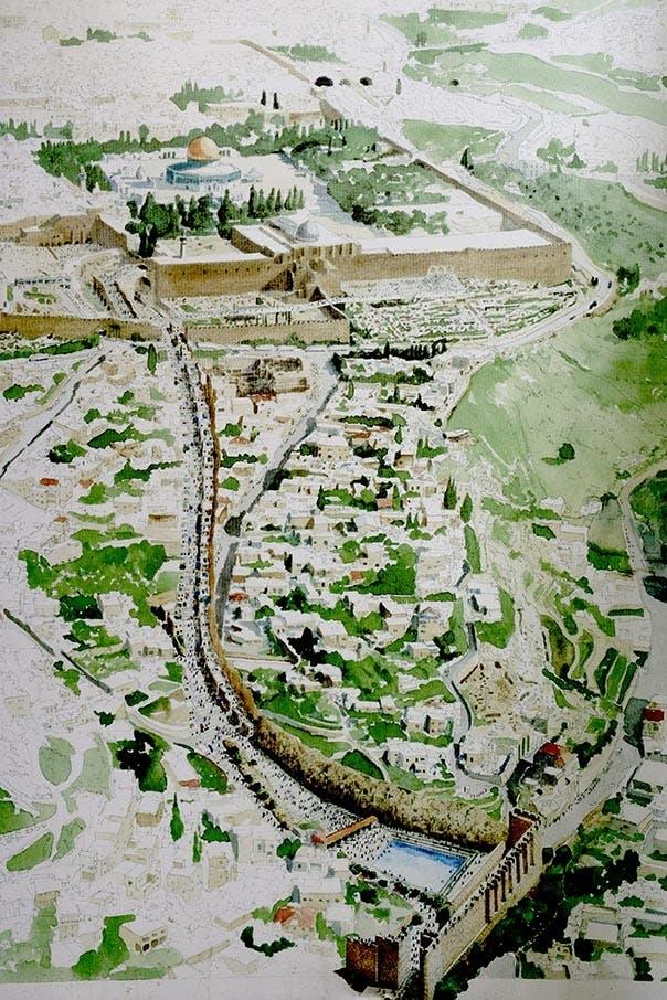 Pilatus pilgrimsvej Jerusalem