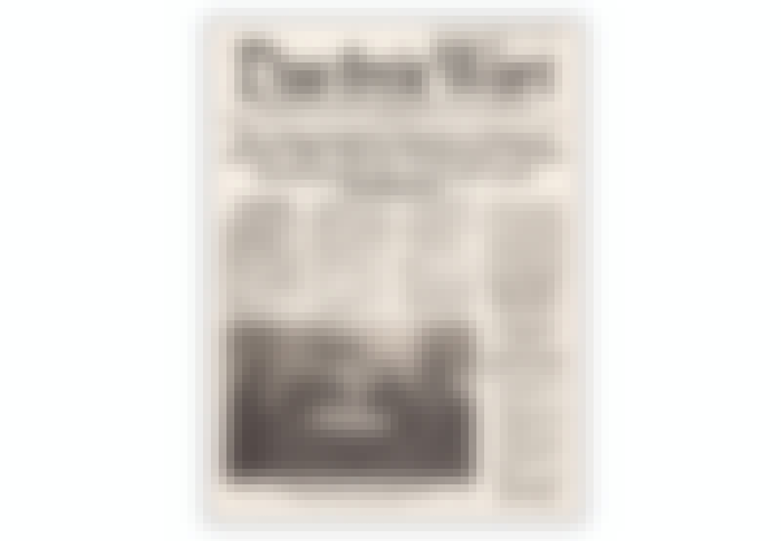 Avis trykket av Sovjetunionen til tyske krigsfanger fra Stalingrad bl.a.