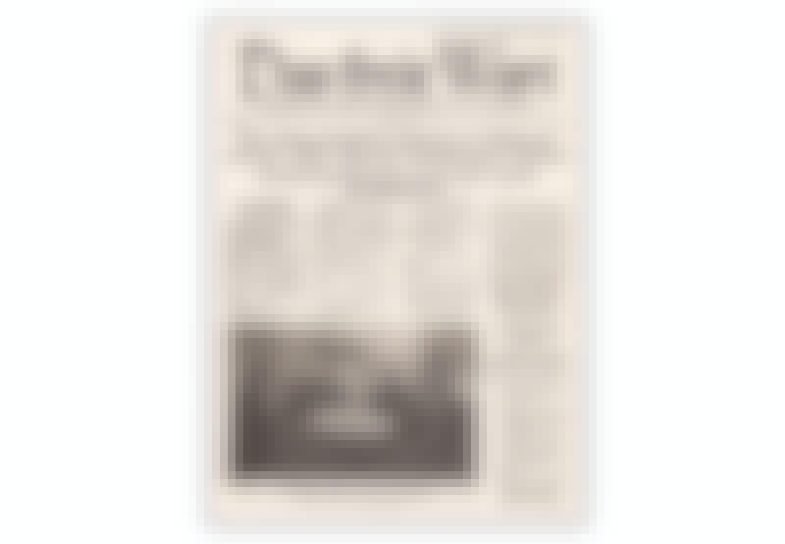 Neuvostoliiton laatima lehti Stalingradin saksalaisille sotavangeille.