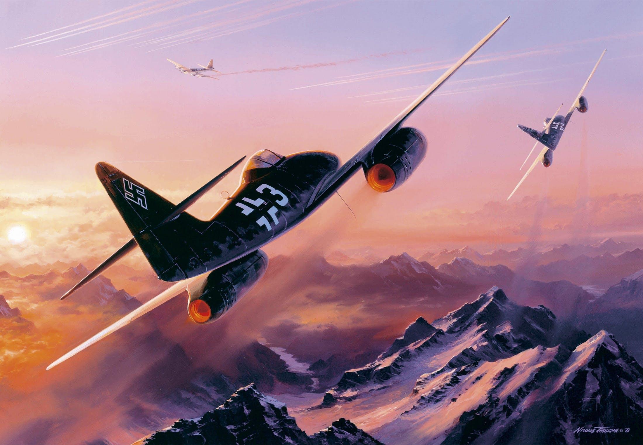 Messerschmitt Me 262: Historiens første jetjager | historienet.no
