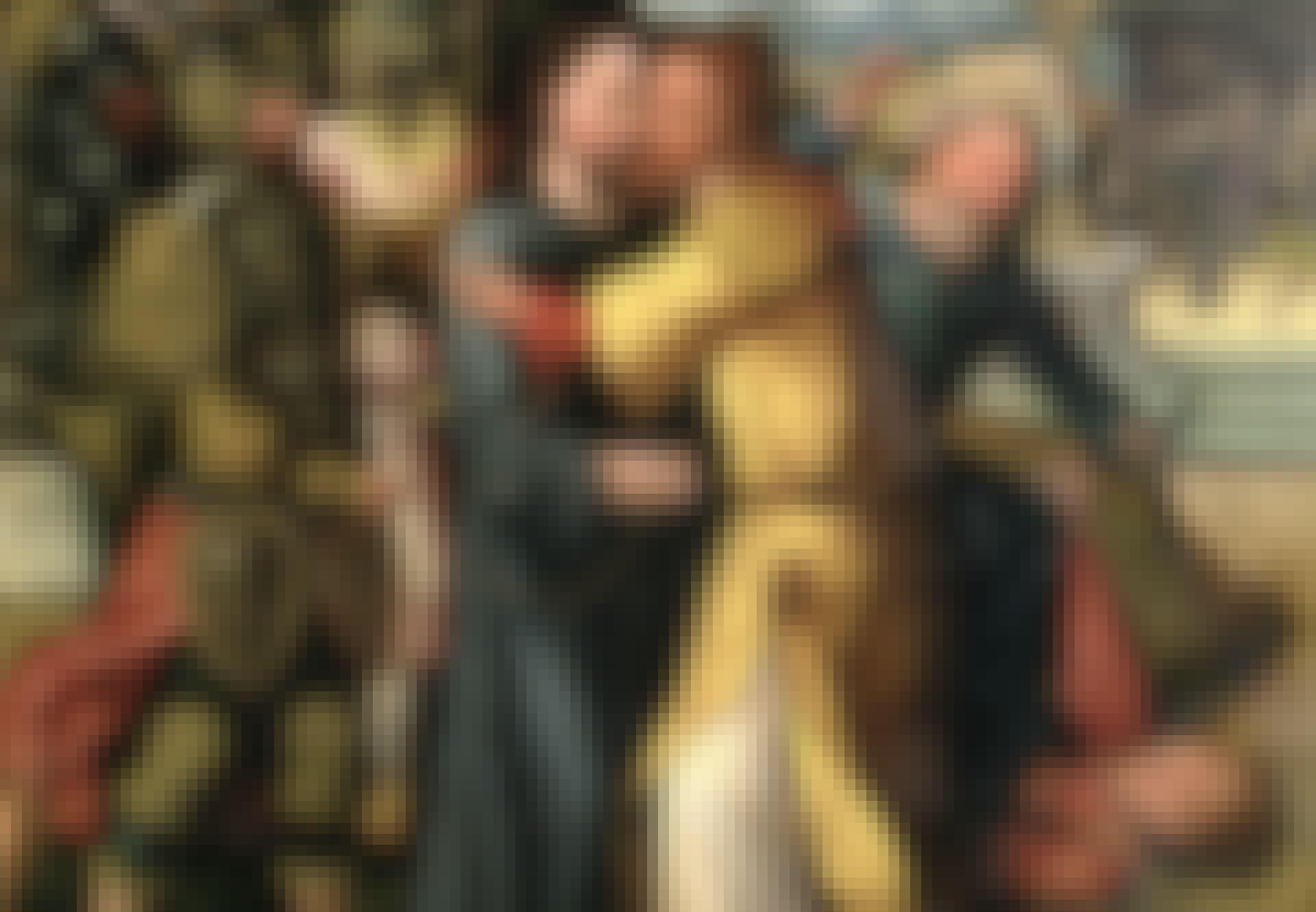 Juudaksen suudelma petos punatukkaisuus