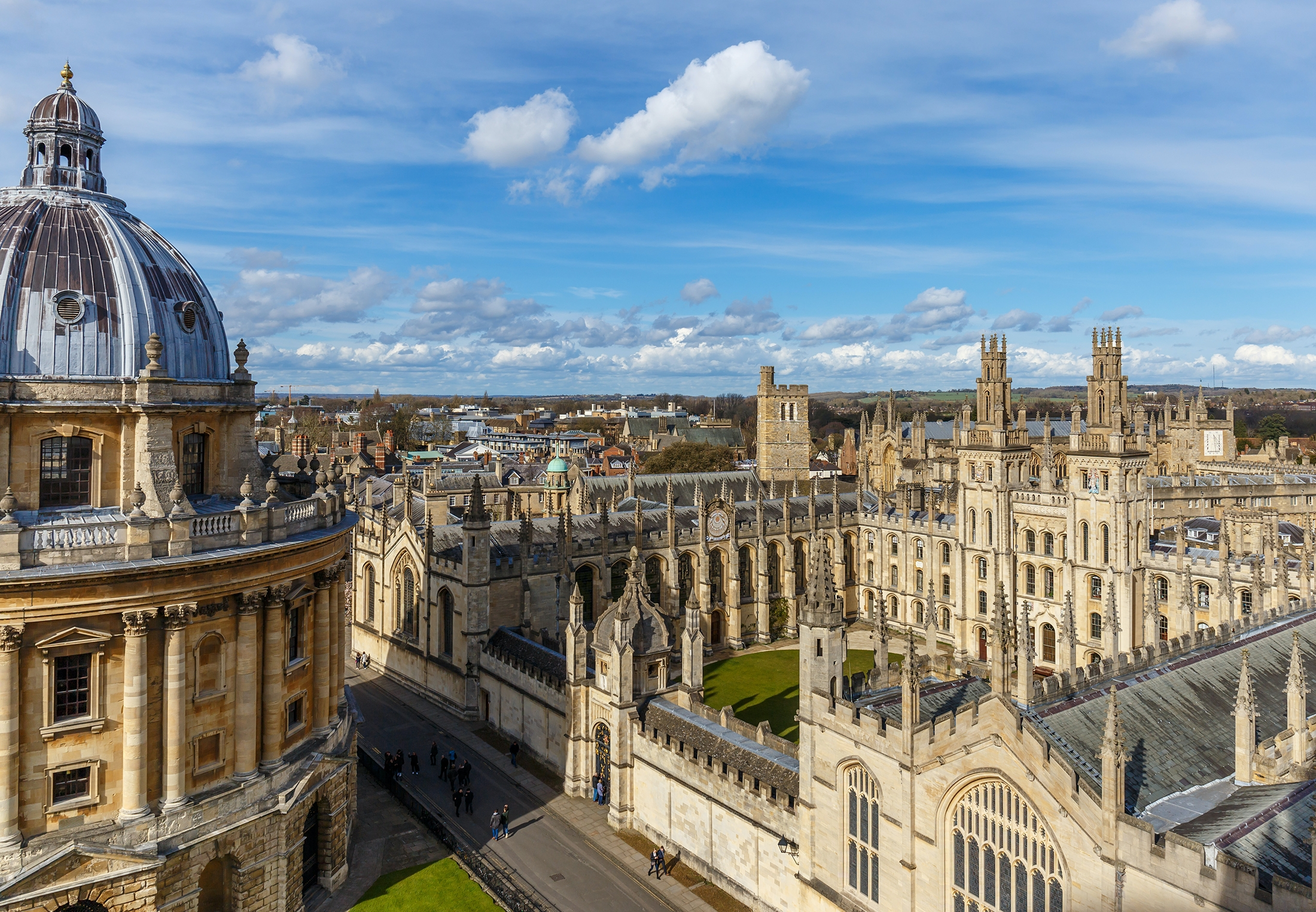 The world's oldest English-speaking university, founded in 1200
