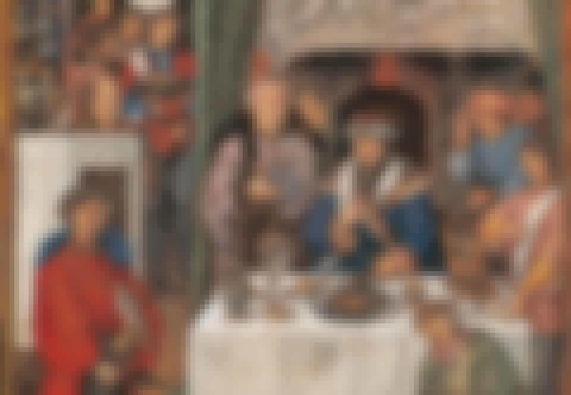 The month of January: Rich man's banquet