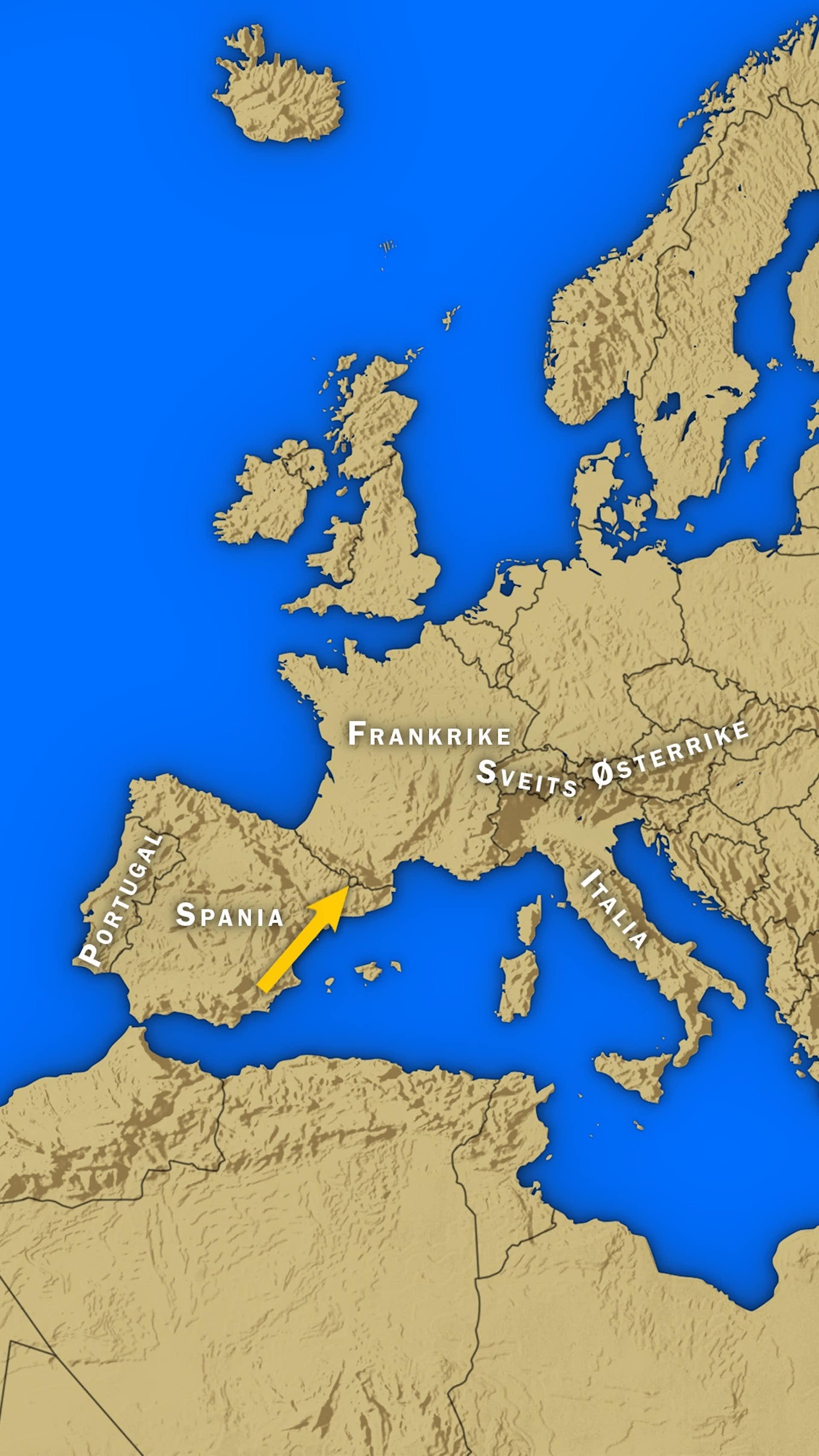 Siden 1278 Har Denne Landegrensen Ikke Vaert Til A Rokke Historienet No