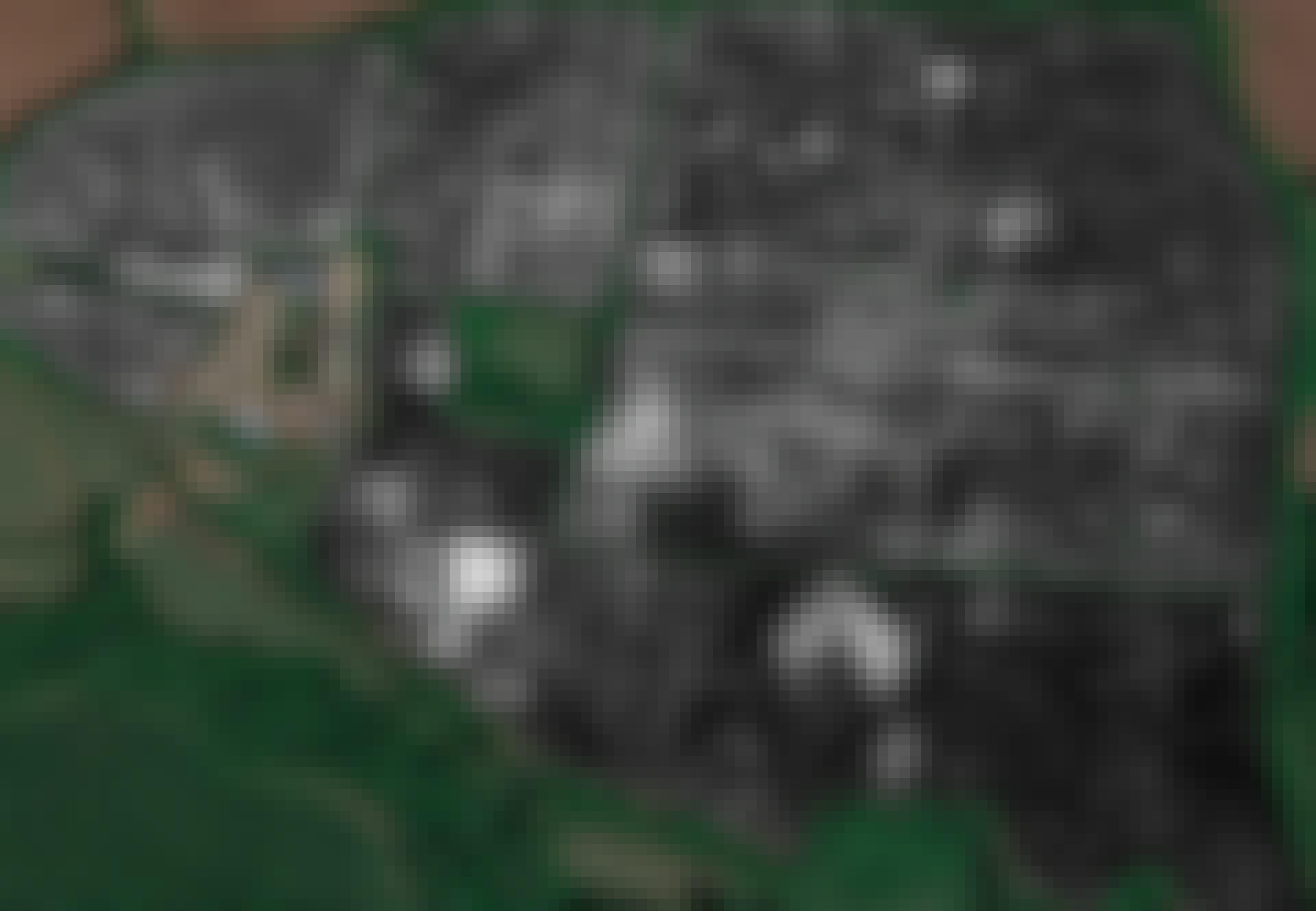 Falerii Novi, radarbilleder af antik by