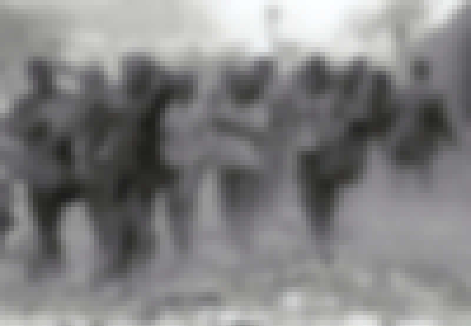 Folk dækket af støv den 11. september