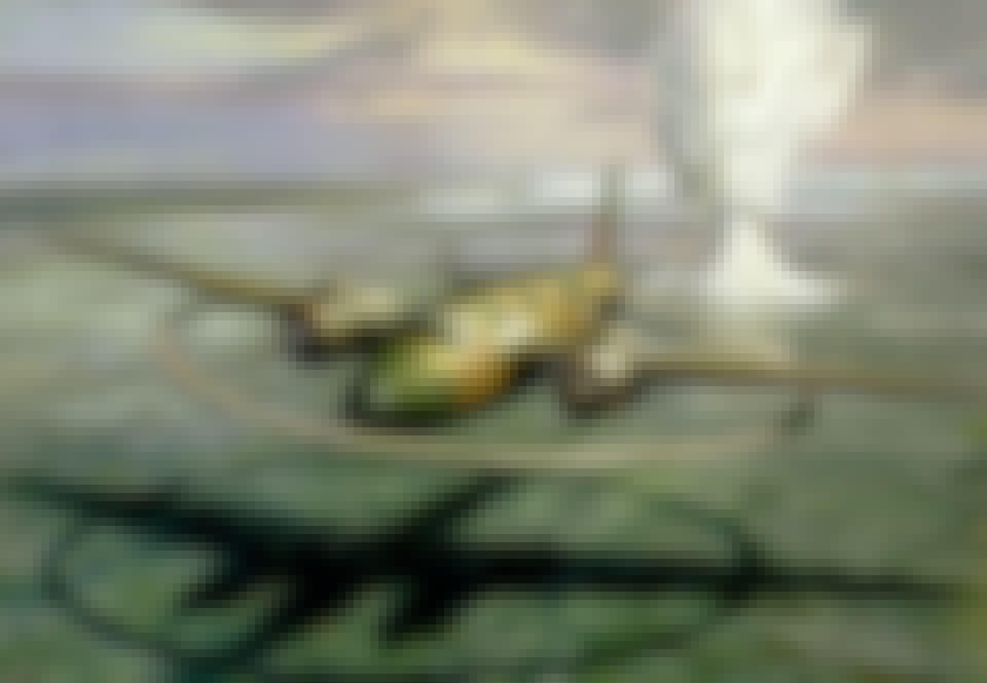 Megneetvliegtuig, magneetmijn, Tweede Wereldoorlog