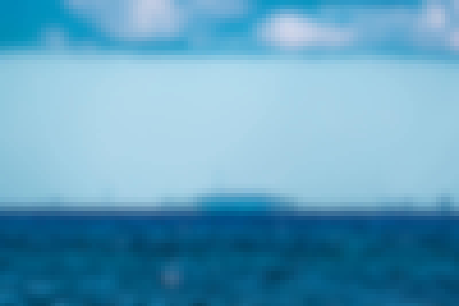 Fatamorgana på havet