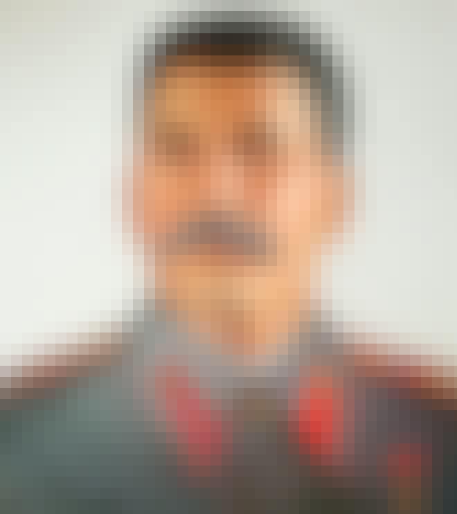 Josif Stalinin muotokuva Stalin-museossa Batumissa, Georgiassa