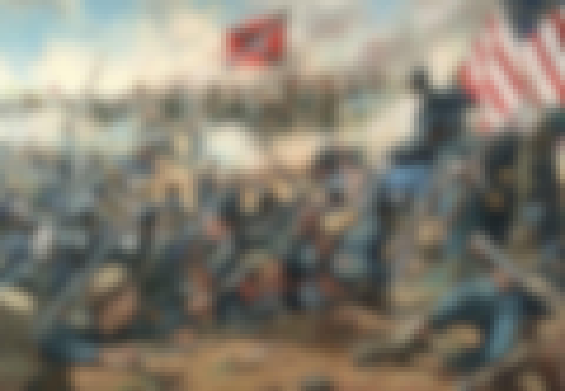 Sydstaterne nordstaterne slagmark