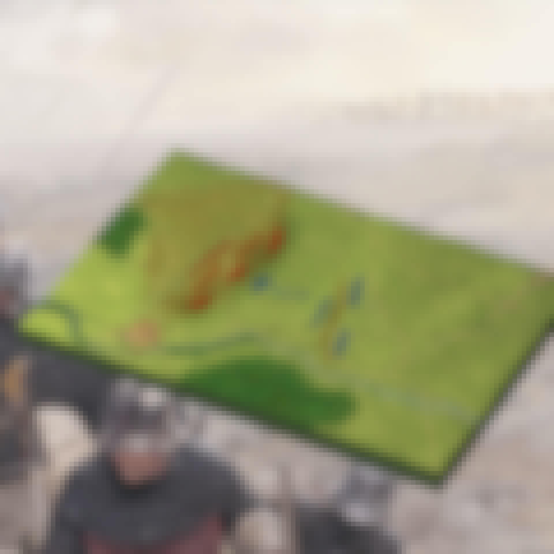 Slaget ved Crécy Strategikort