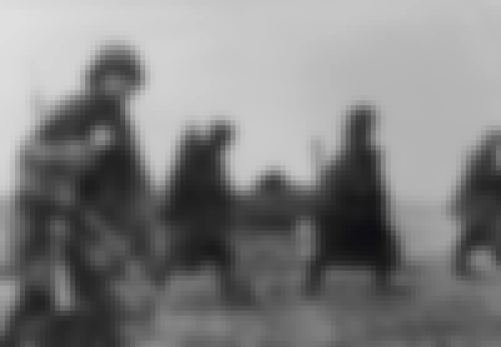 Venäläistä jalkaväkeä operaatio Barbarossassa