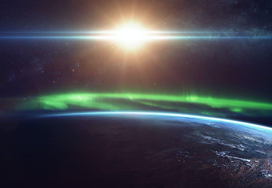 Nordlys ring på jorden