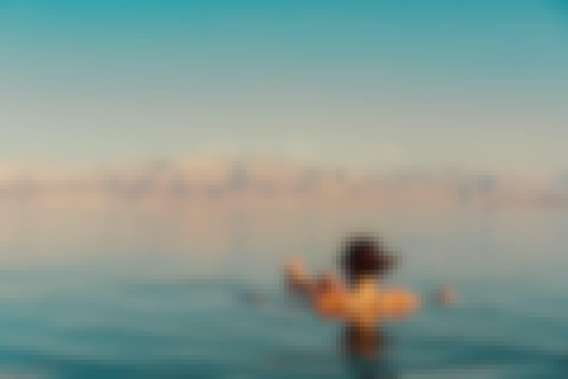 Varifrån kommer saltet i Döda havet?