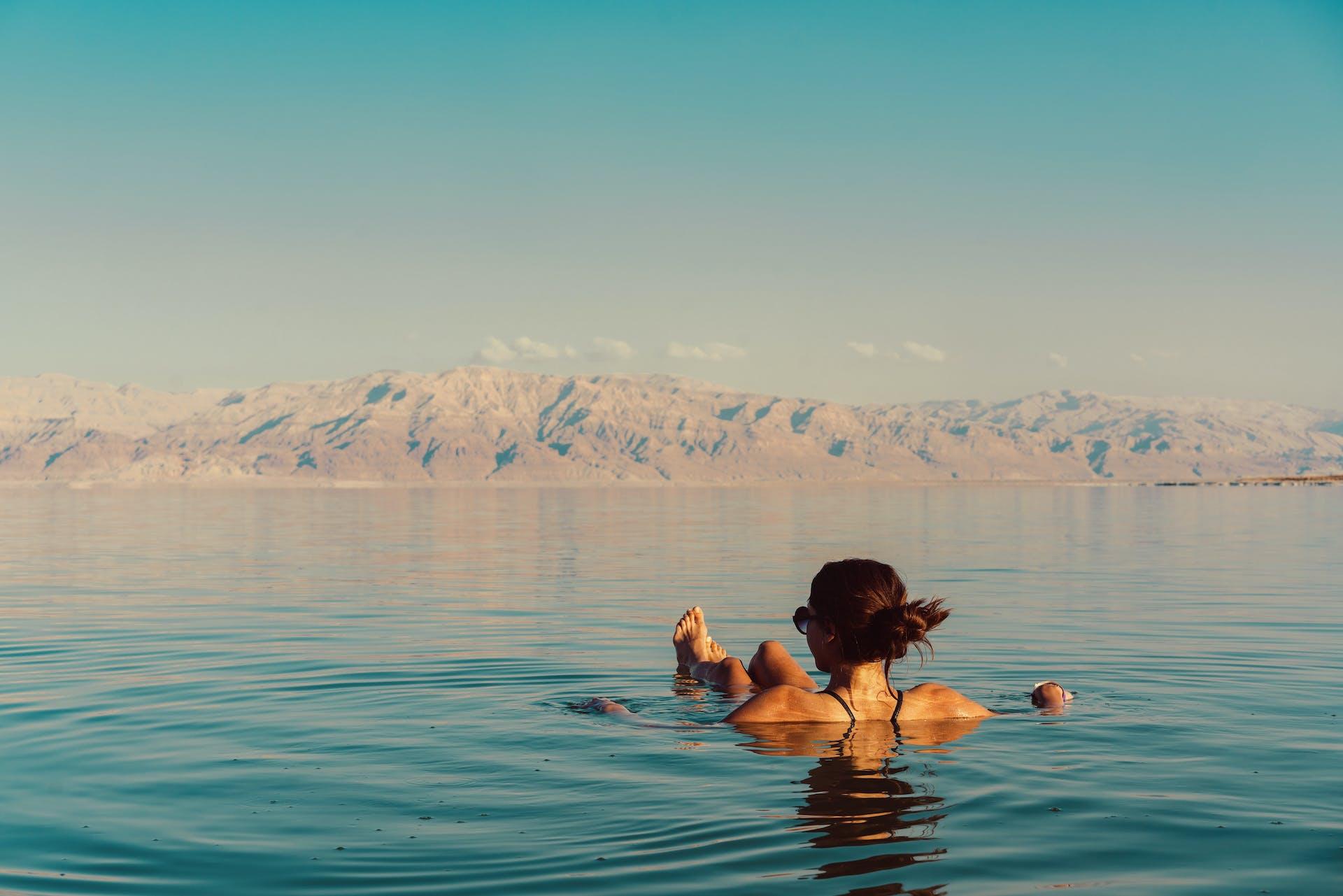 Hvor kommer saltet i Dødehavet fra?