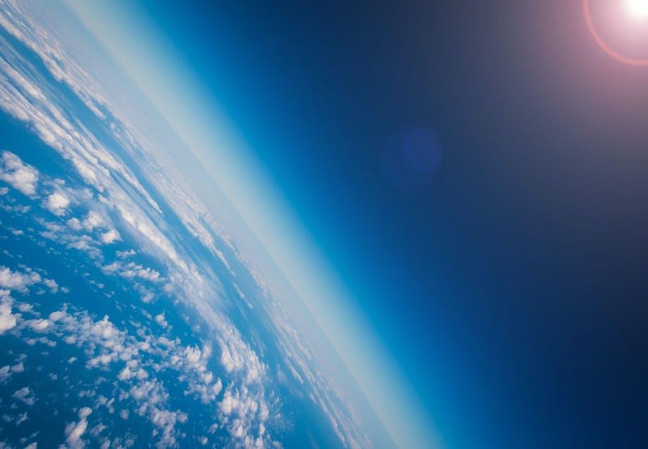 Ozonlaag atmosfeer
