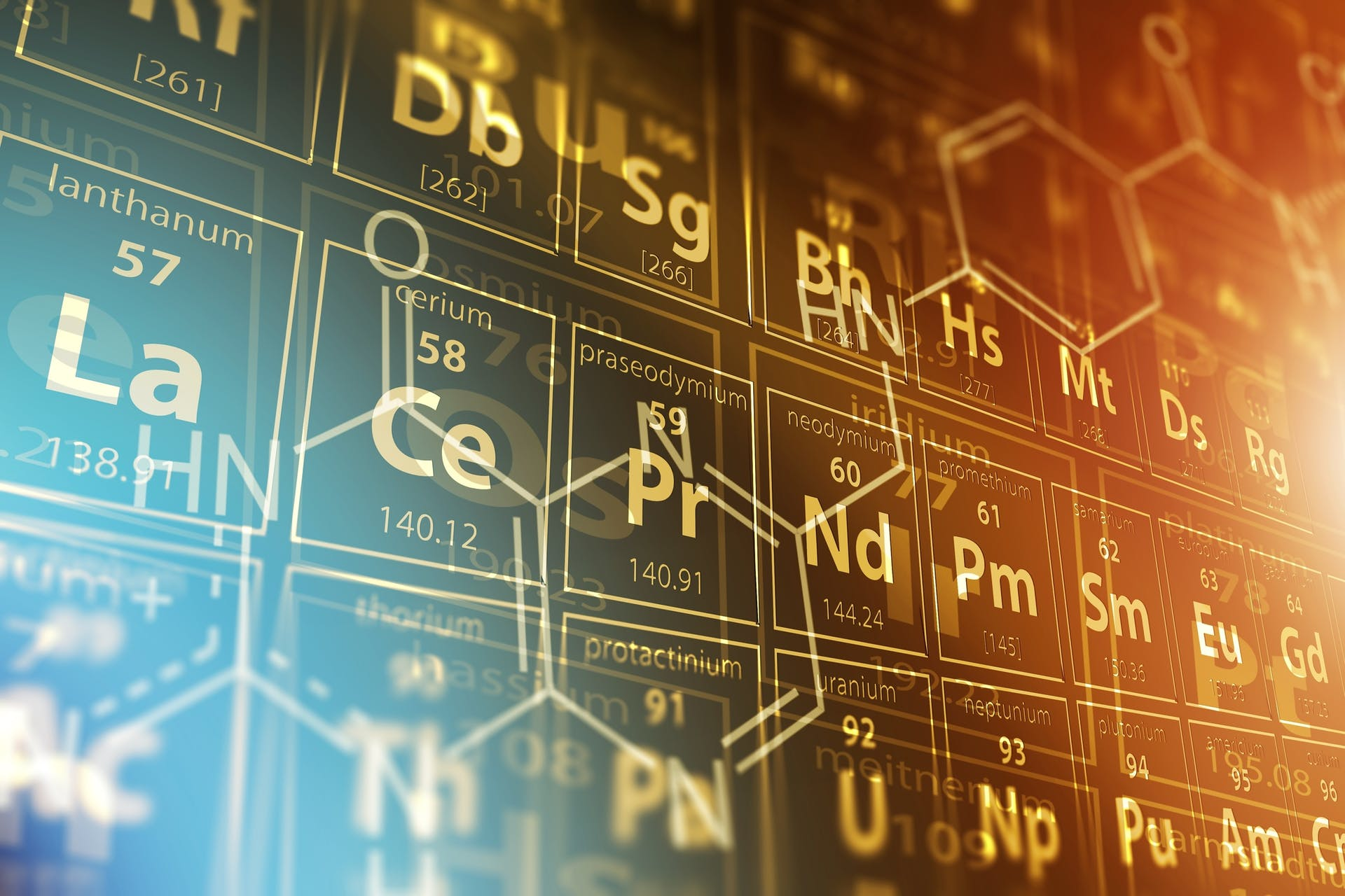 Det periodiske system - grundstoffernes periodiske system