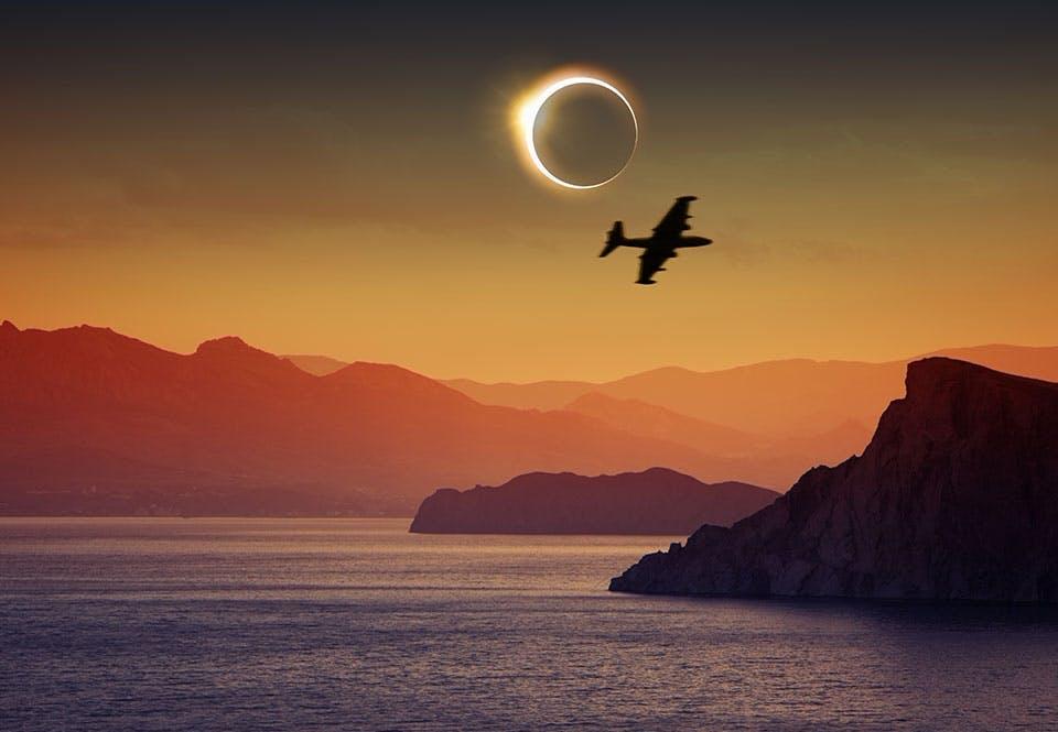 Auringonpimennys: