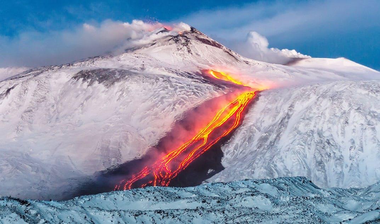 Vulkanen onder het ijs: