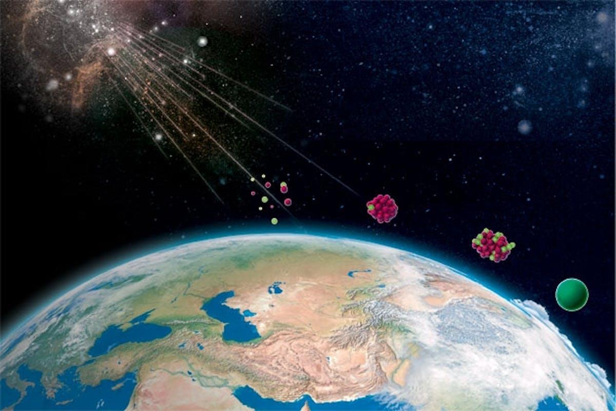 Afbeeldingsresultaat voor kosmische straling