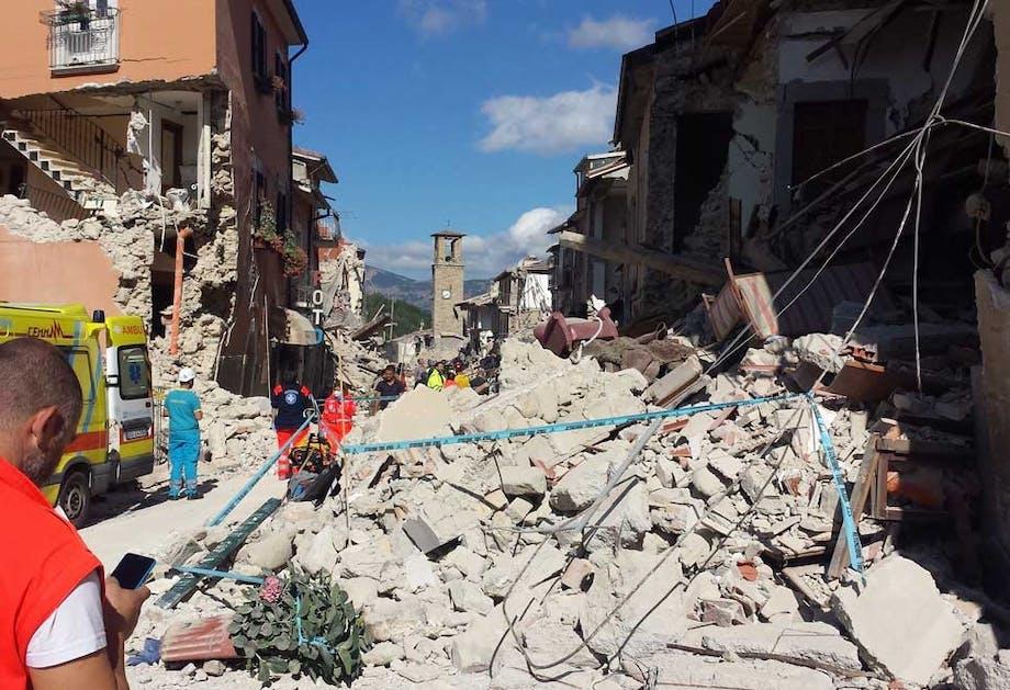 Jordskælv i Europa