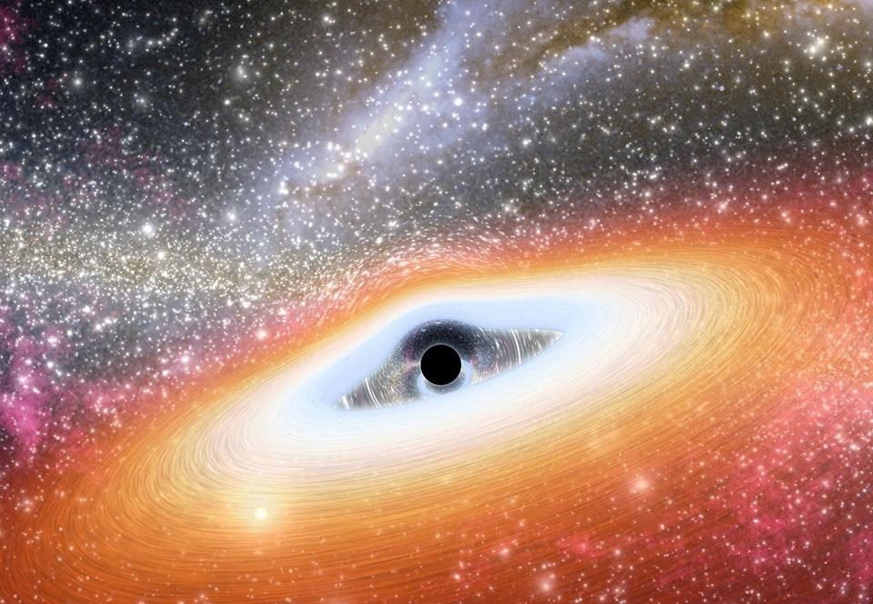 svart hål