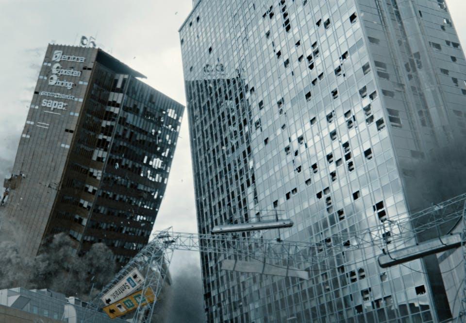 Bilde fra filmen Skjelvet