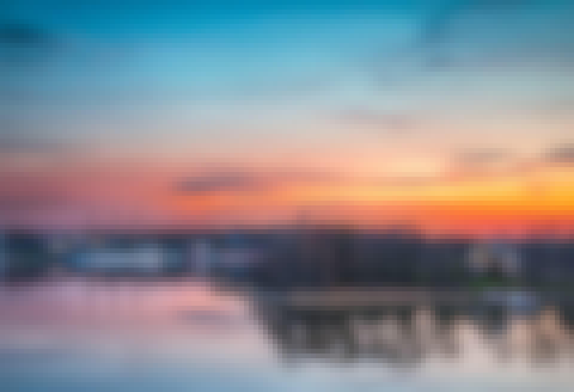 Hvorfor skifter himlen farve?