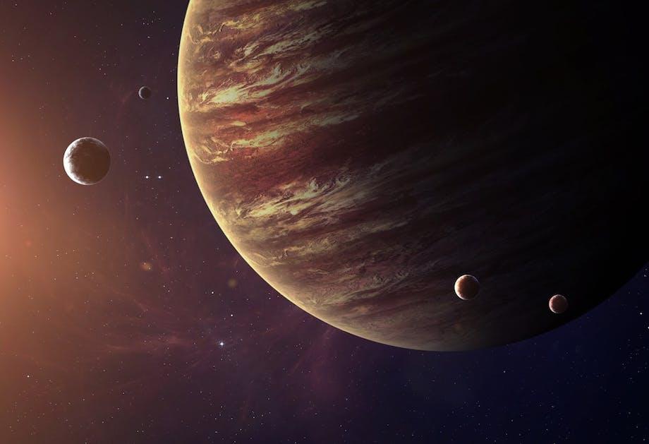 Hvor mange måner har Jupiter?