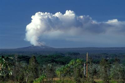 Tulivuoria Havaijilla