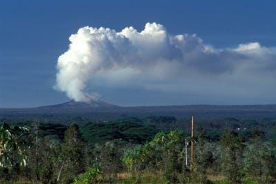 Vulkanen op Hawaï
