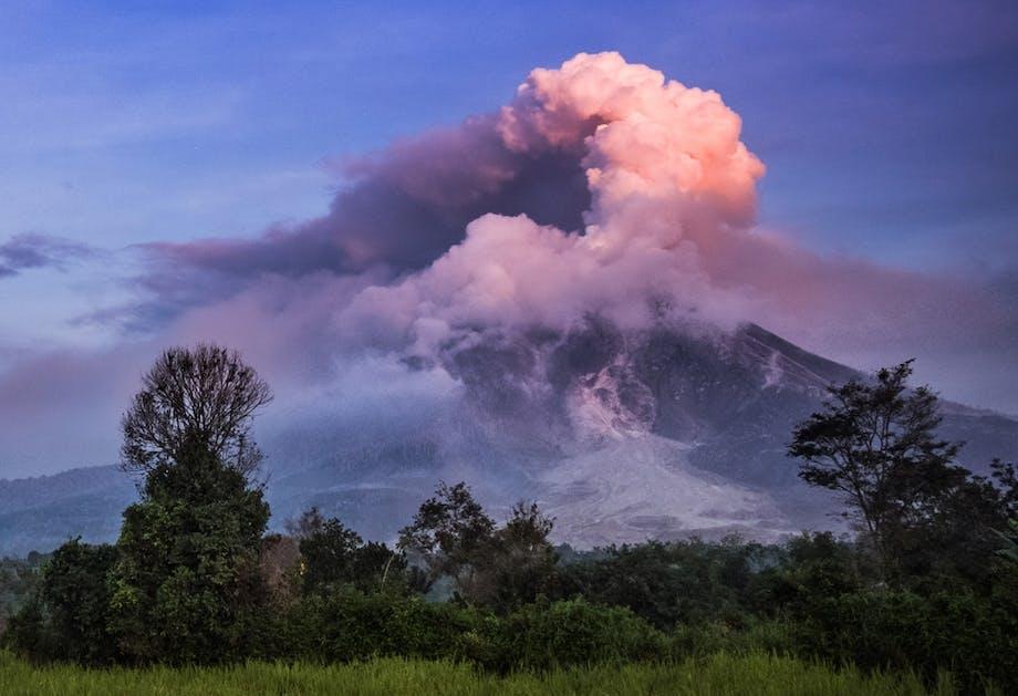 Vulkanen in Azië