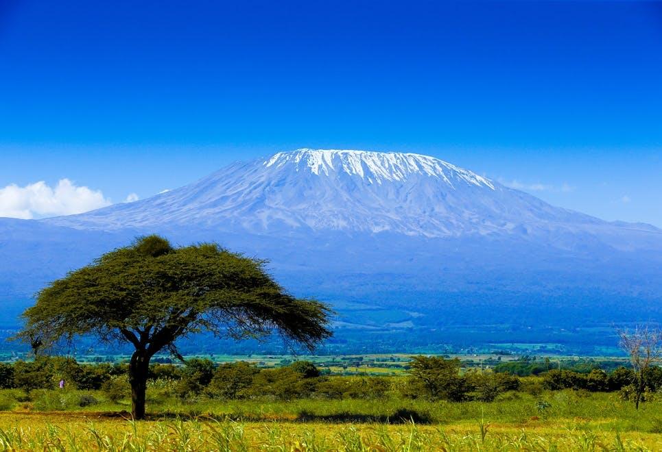 Vulkaner j Afrika - Kilimanjaro
