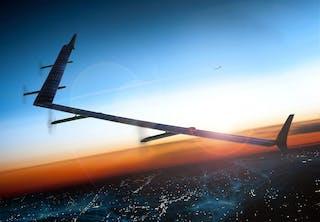 Facebookin Aquila-lennokkien välillä tieto kulkee laservalona.