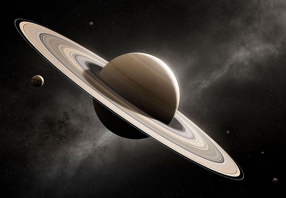 Se Saturnus ringar och månar   illvet.se