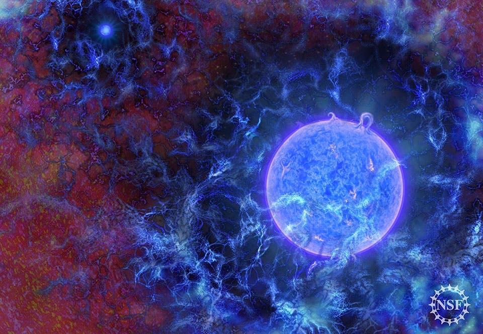 De första stjärnorna