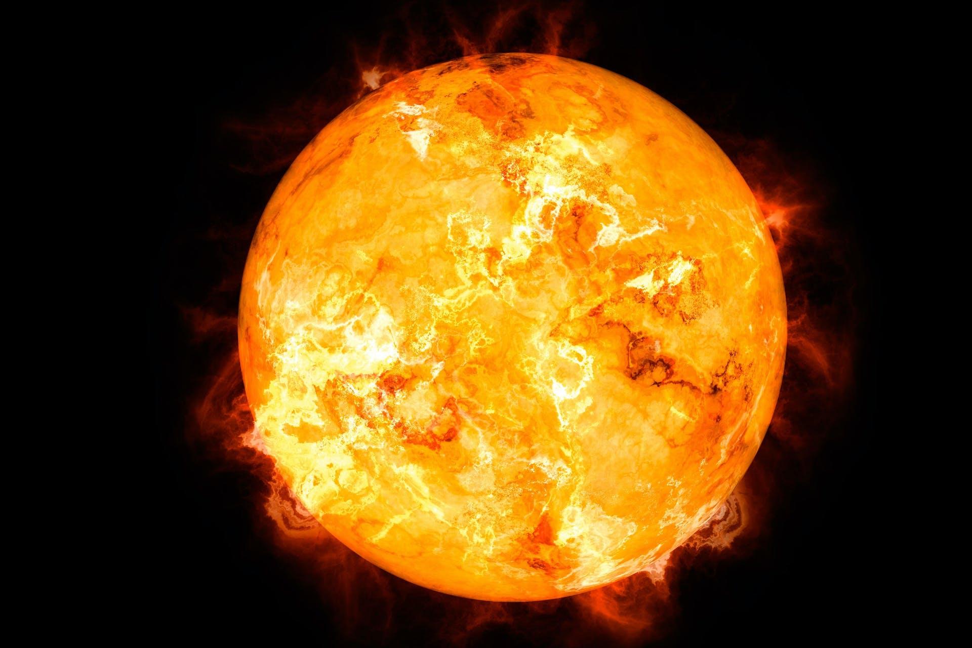 Sun_solar system theme