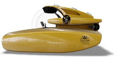 Plexiglasubåten Triton 5500-2.