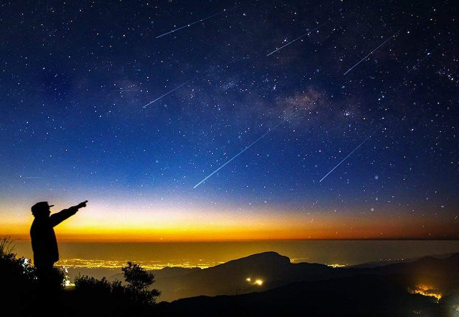 Meteorregn – Meteor shower