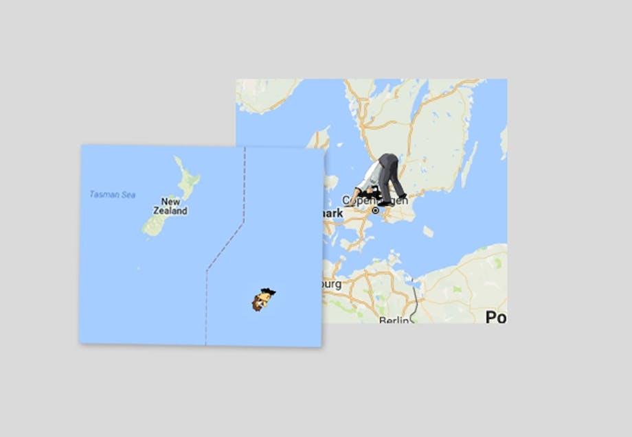 Karta Over Spaniens Vastkust.Karta Later Dig Grava Ett Hal Till Andra Sidan Jorden Illvet Se