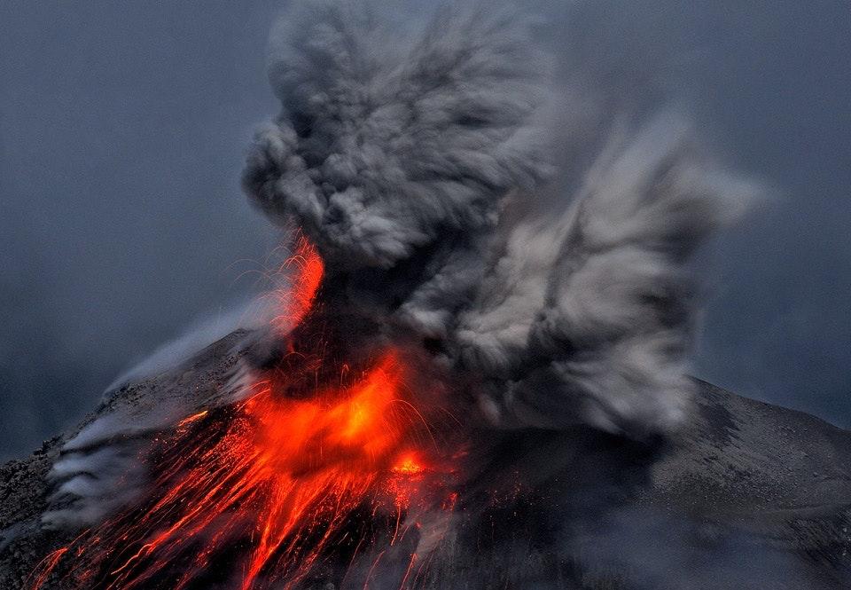Vulkanutbrott hotar pa island