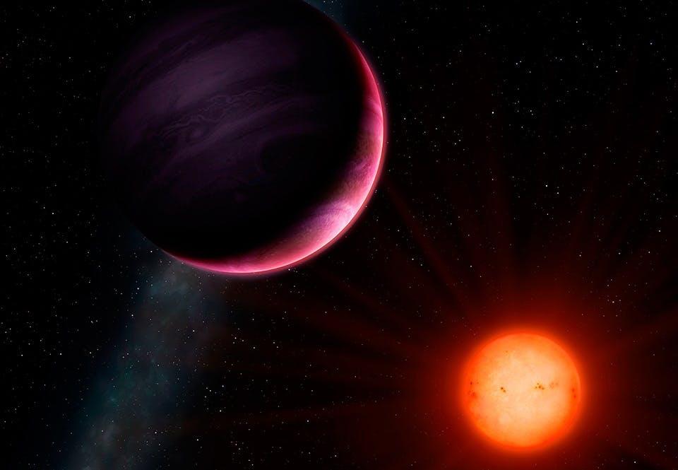 Umulig solsystem