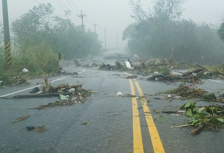 Myrskyn jälkeiset tuhot