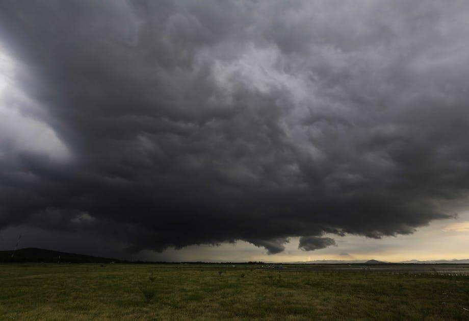 Hvordan opstår en storm?