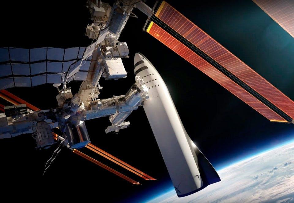 BFR och ISS
