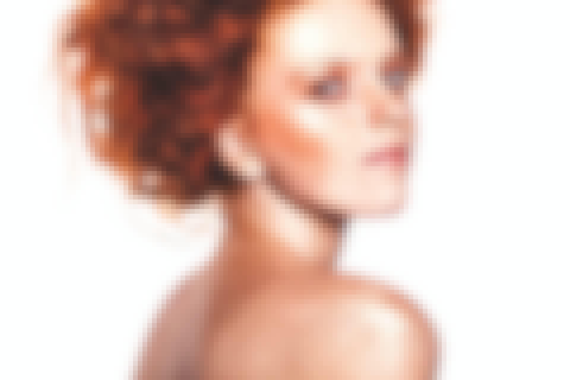 Rødhåret kvinde