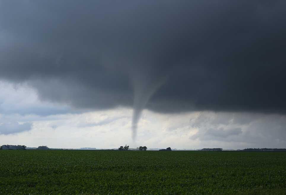 Hvad er en tornado?